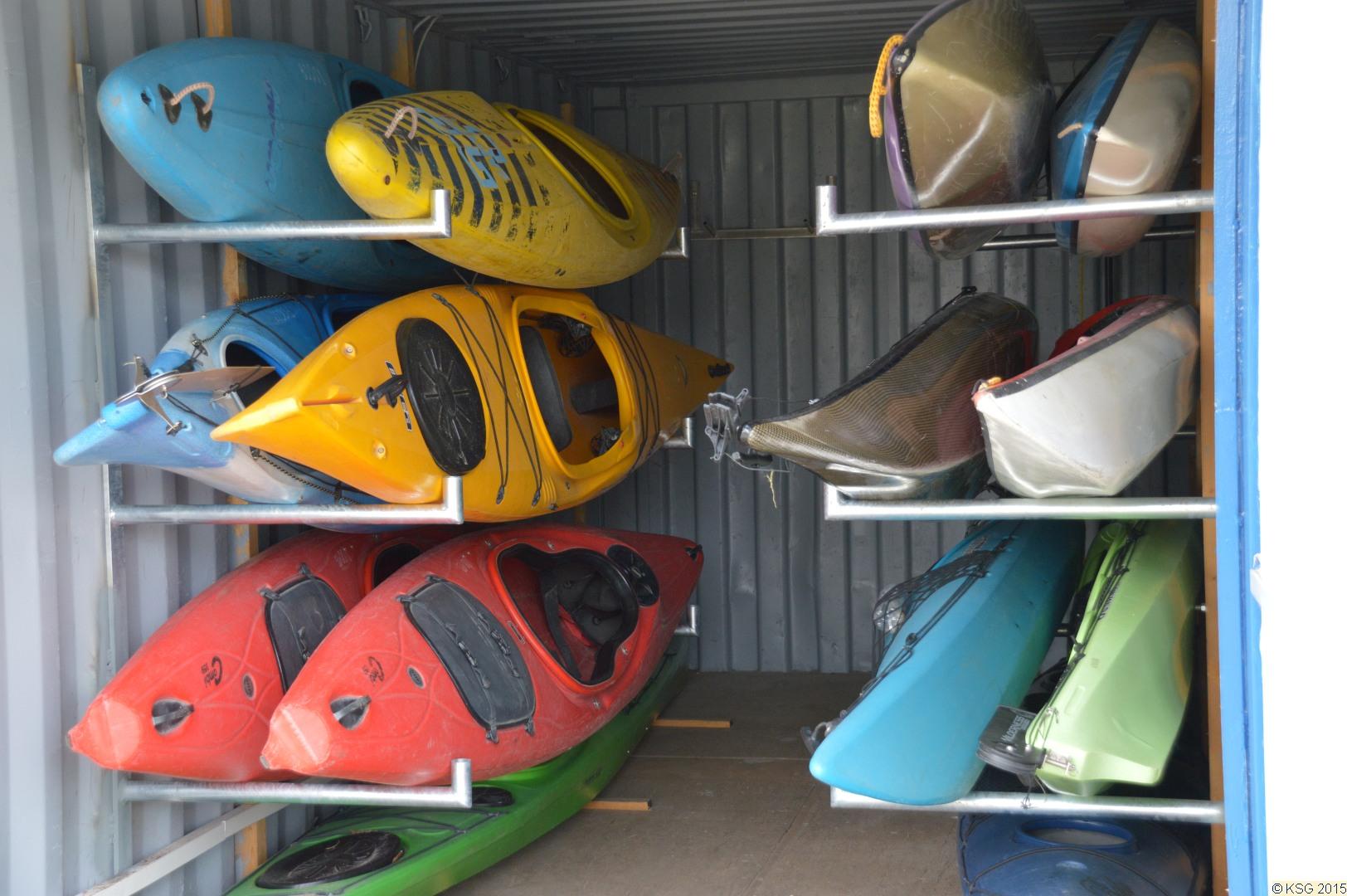 Arbeitseinsatz am Bootshaus