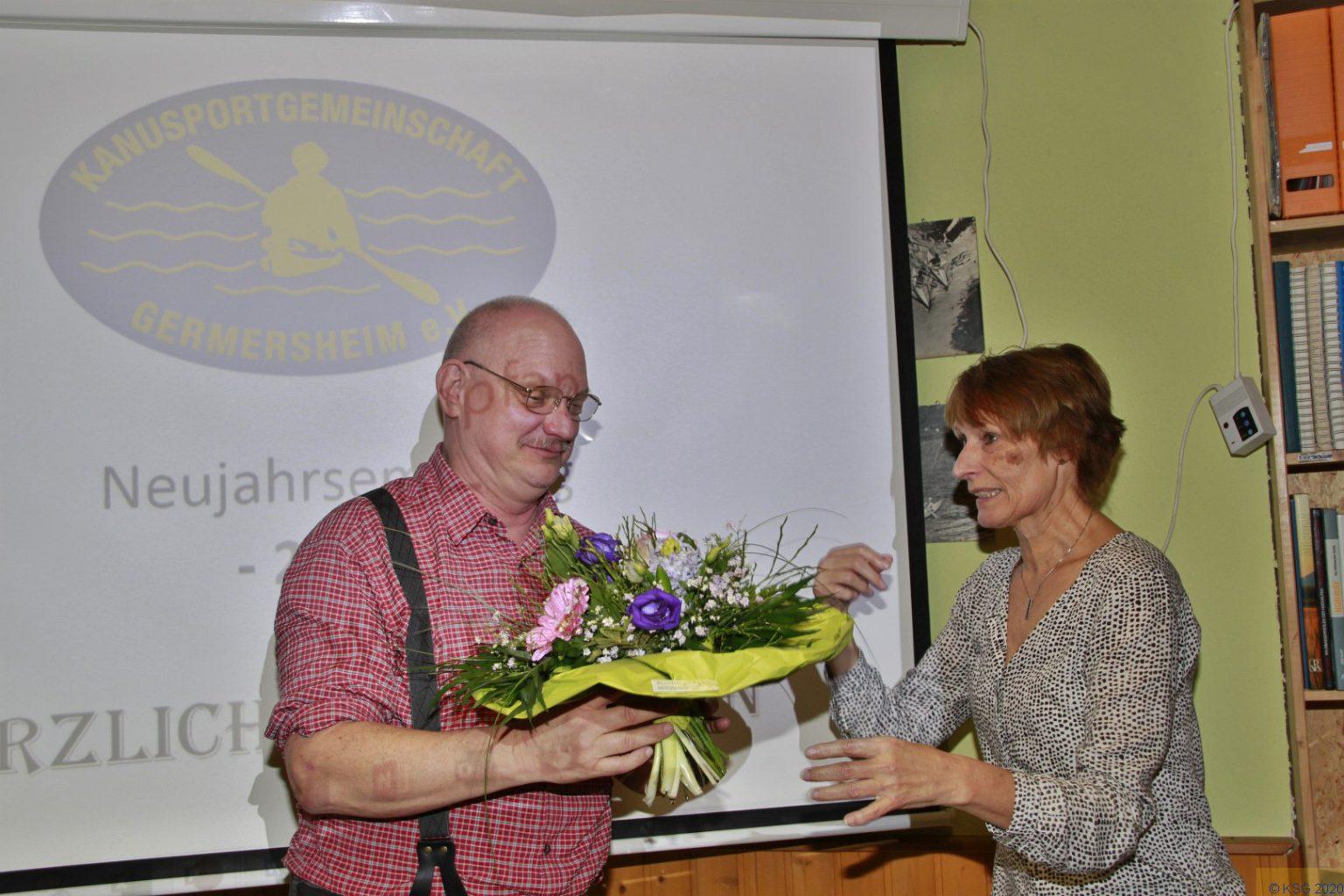 Bernhard 20 Jahre KSG