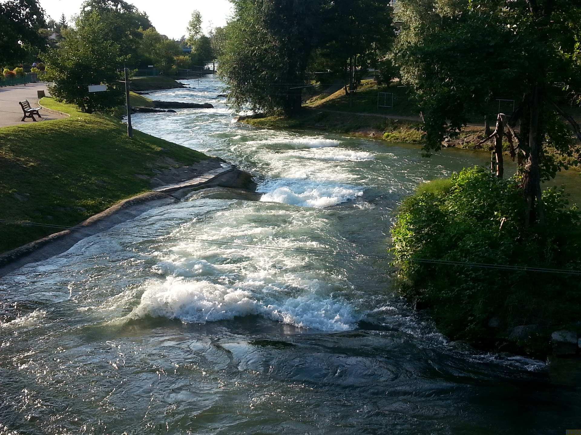 Wildwasserkanal Hüningen