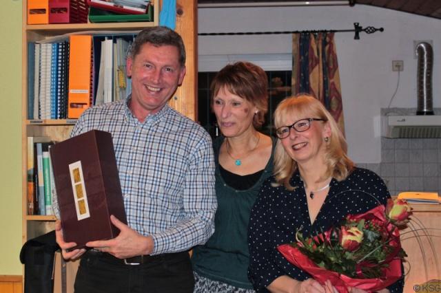 Elfi und Peter Ziegler sind 20 Jahre Mitglied der KSG